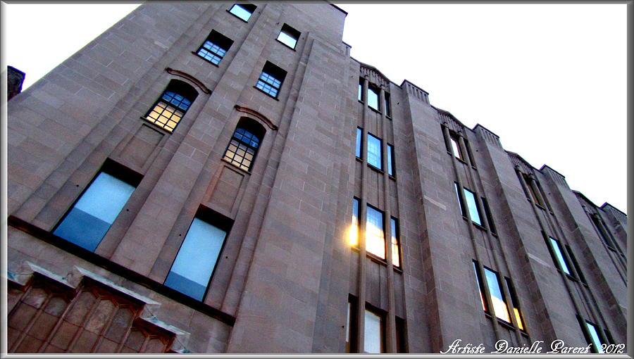 Architechture Photograph - Bell Building by Danielle  Parent