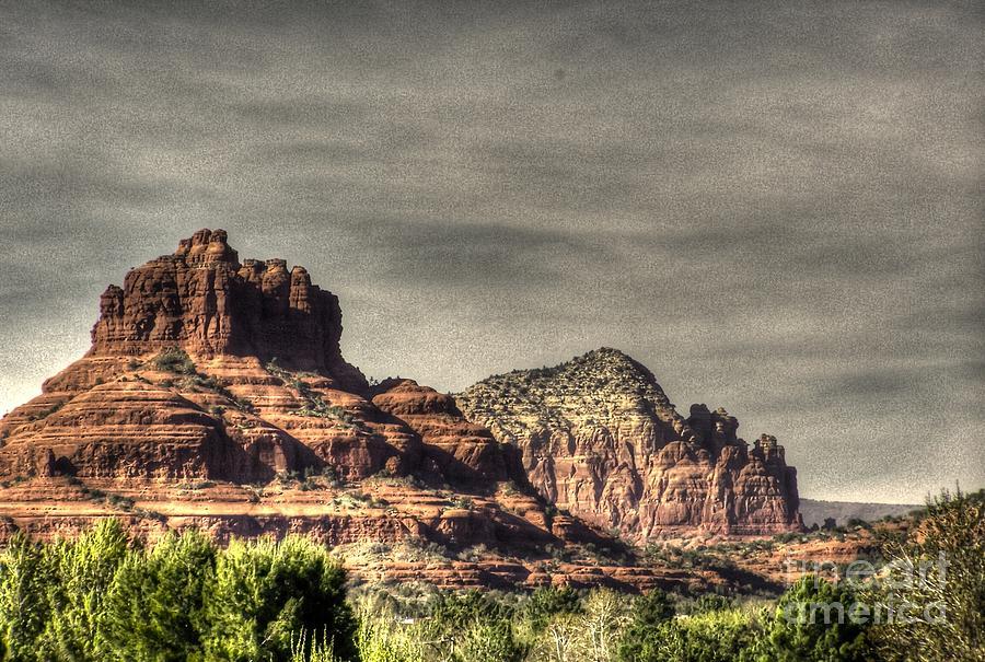 Mesa Photograph - Bell Rock - Sedona by Dan Stone