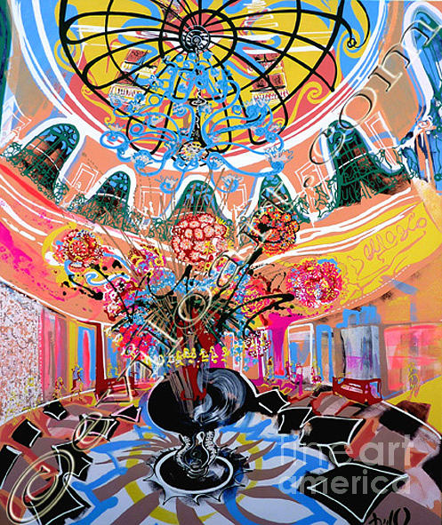 Bellagio Painting by Evilo Eviloart