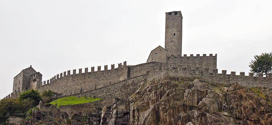 Ages Photograph - Bellinzona - Ticino by Joana Kruse