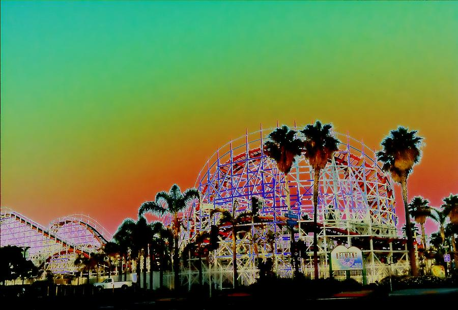 Belmont Park San Diego California Photograph By John Toma
