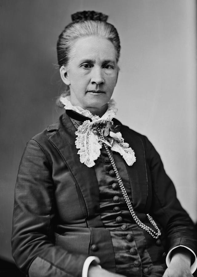 History Photograph - Belva Lockwood 1830-1917, Was A Lawyer by Everett