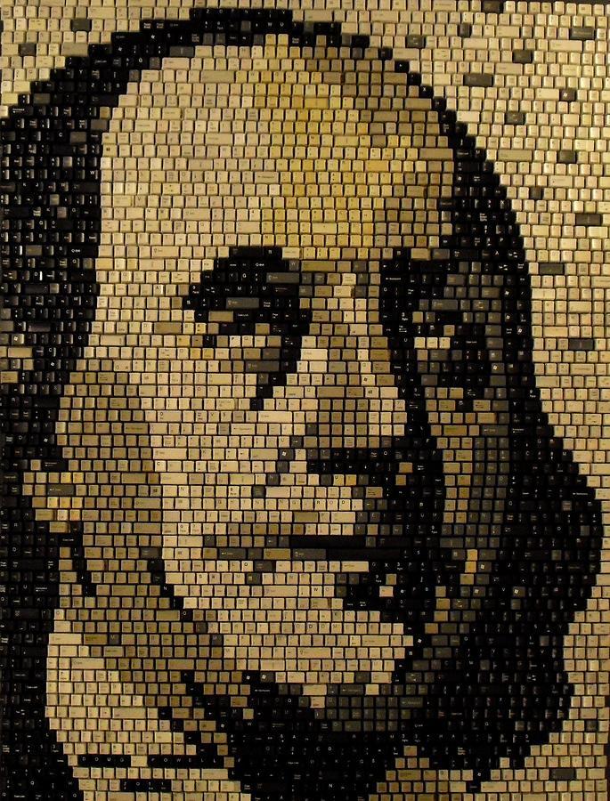 Benjamin Franklin Mixed Media - Ben Franklin by Doug Powell