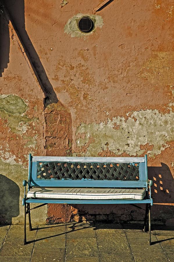 Bench Photograph - Bench by Joana Kruse