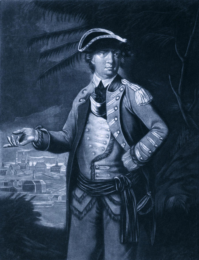 1700s Photograph - Benedict Arnold - Who Commanded by Everett