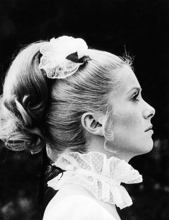 1960s Portraits Photograph - Benjamin, Catherine Deneuve, 1968 by Everett