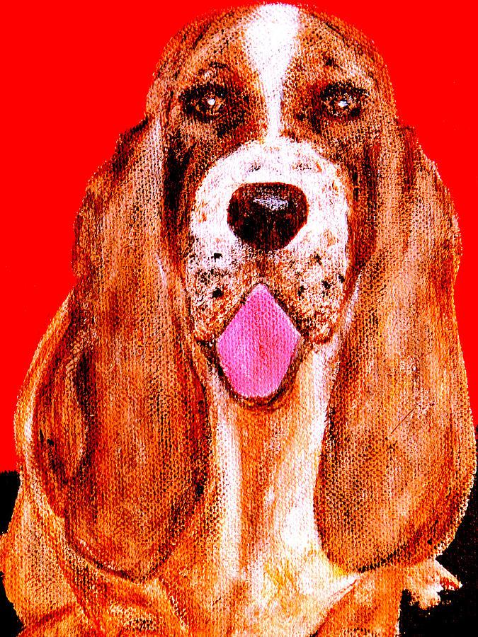 Dog Painting - Benny Boy by Forartsake Studio