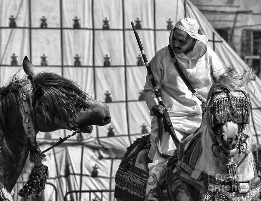 Morocco Photograph - Berber Bw by Chuck Kuhn