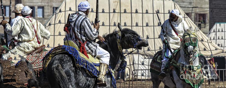 Morocco Photograph - Berber Festival by Chuck Kuhn