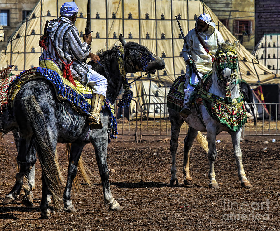 Morocco Photograph - Berbers Morocco by Chuck Kuhn