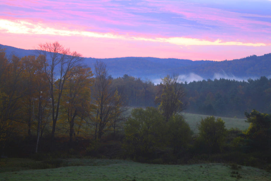 Landscape Photography Photograph - Berkshires Sunrise by Todd Breitling