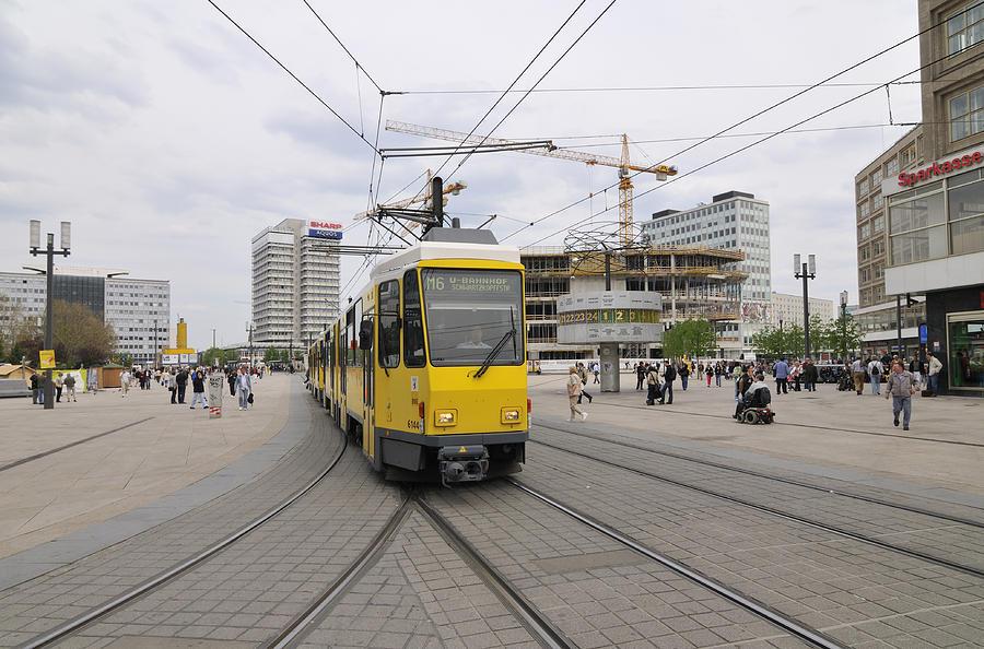 Alexanderplatz Photograph - Berlin Alexanderplatz Square by Matthias Hauser