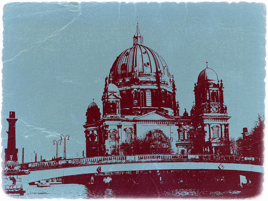 Berlin Cathedral Photograph - Berlin Cathedral by Naxart Studio