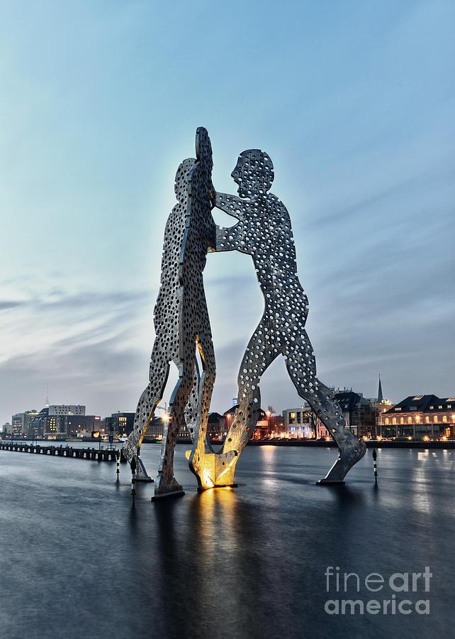 Berlin Photograph - Berlin - Molecule Man  by ARTSHOT  - Photographic Art