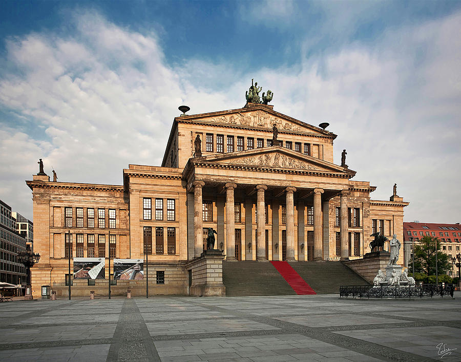 Berlin Opera House Photograph by Endre Balogh