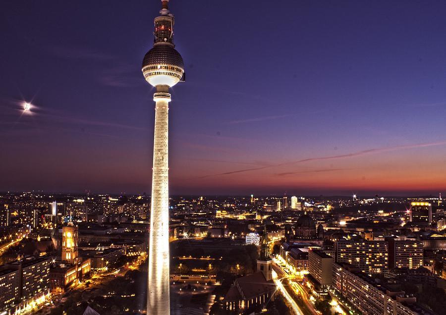 Berlin Photograph - Berlin Tv Tower by Bianca Baker