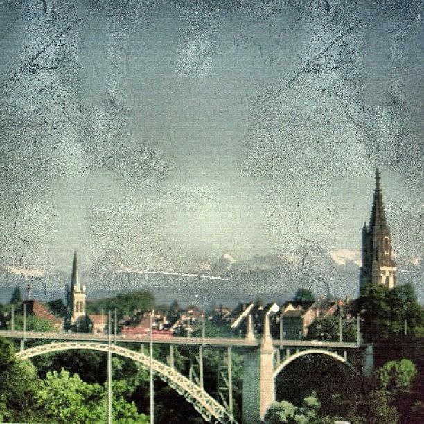 Alps Photograph - Bern City - Switzerland by Joel Lopez