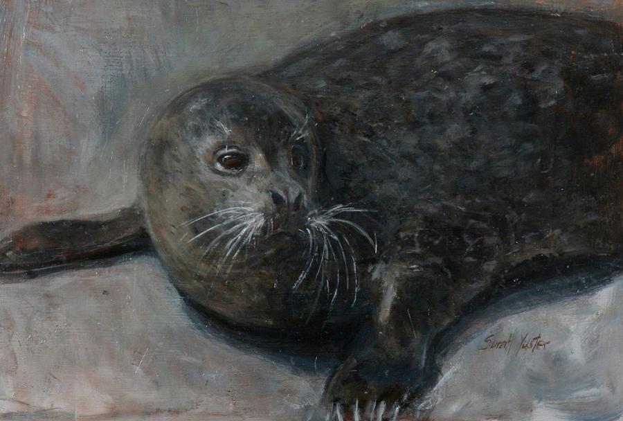 Bernie Painting - Bernie by Sarah Yuster