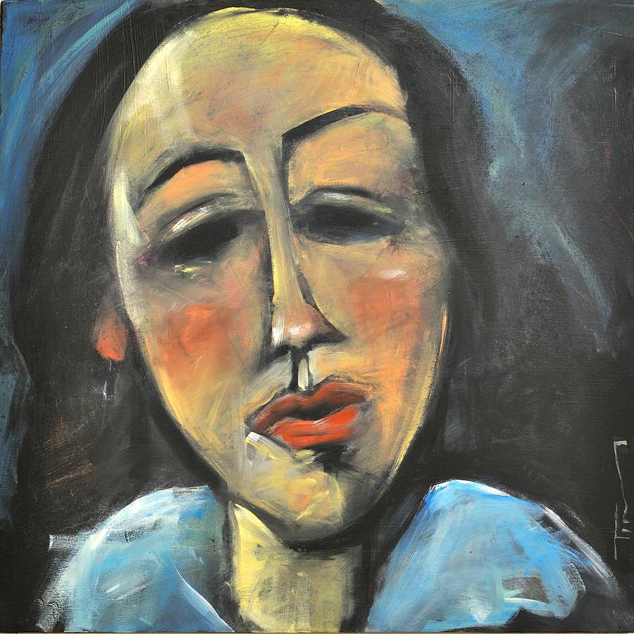 Modigliani Painting - Berthe Lipchitz Revisited by Tim Nyberg