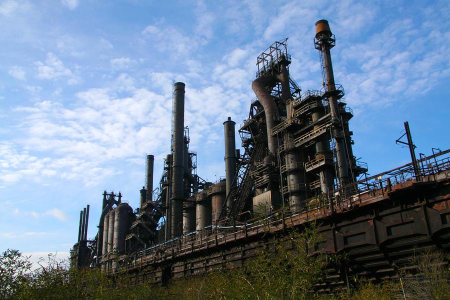 Bethlehem Steel Photograph - Bethlehem Steel by Angela Angermaier