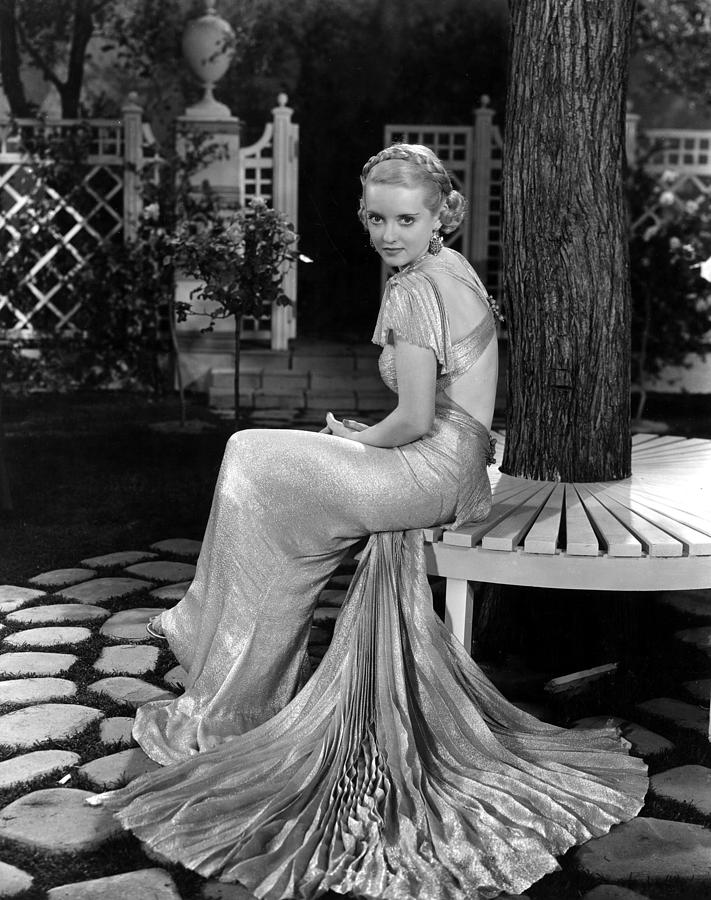 1930s Fashion Photograph - Bette Davis In The 1930s by Everett