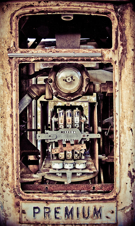Gas Pump Photograph - Better Times by Merrick Imagery