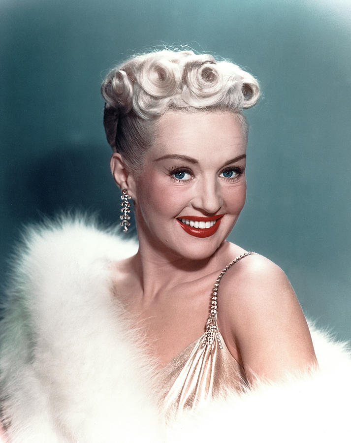 Blonde Photograph - Betty Grable by Everett