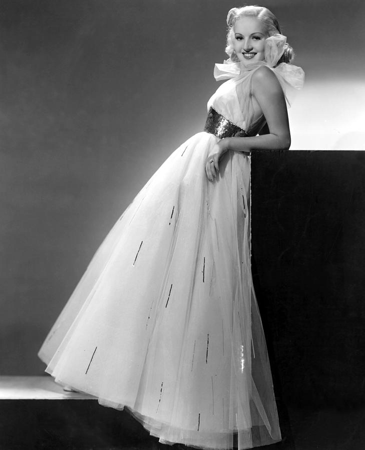 1930s Fashion Photograph - Betty Grable, Paramount Pictures, 1937 by Everett