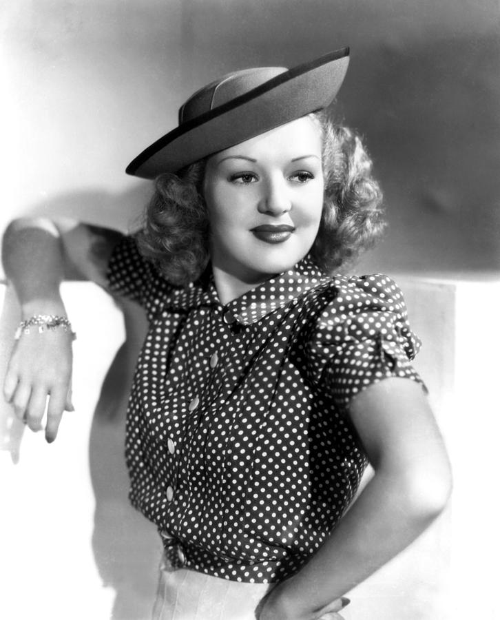 1930s Fashion Photograph - Betty Grable, Paramount Pictures, Late by Everett