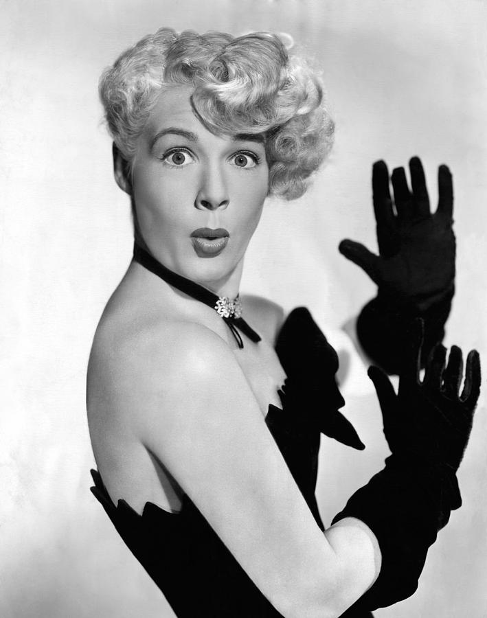 Black Gloves Photograph - Betty Hutton, Ca. 1949 by Everett