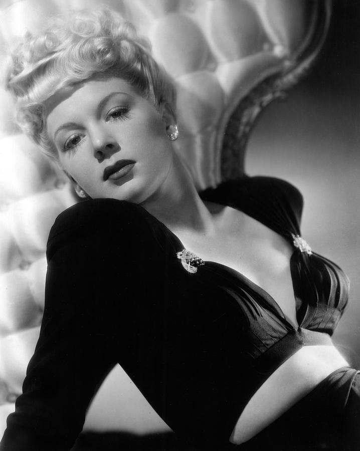 1940s Photograph - Betty Hutton, Paramount Pictures, 1943 by Everett