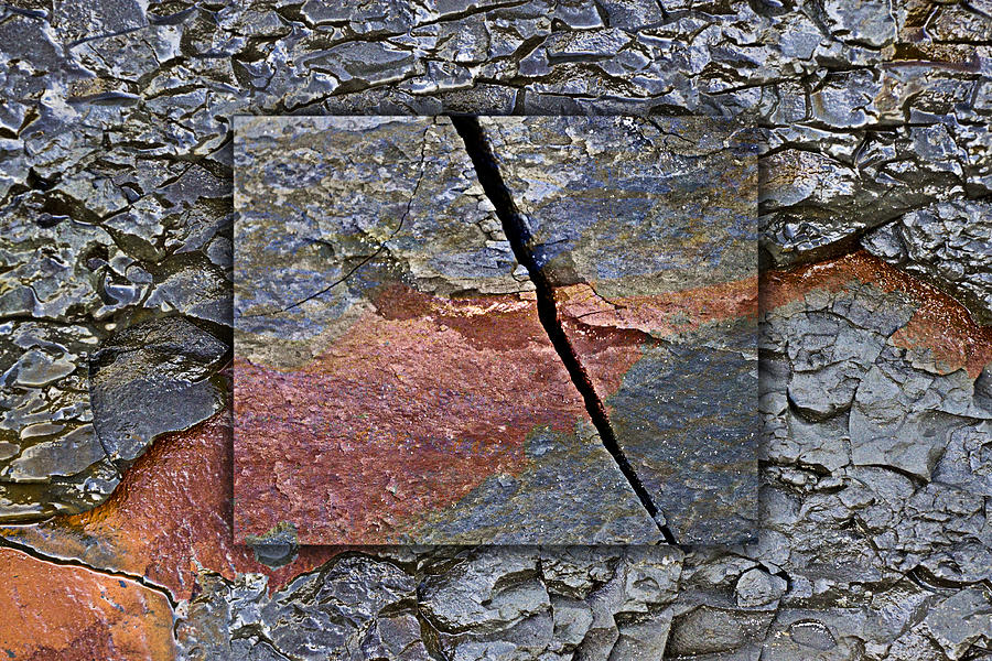 Bold Photograph - Between Tides Number 15 by Carol Leigh