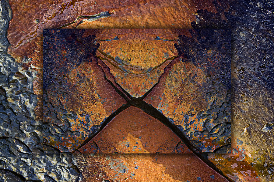 Bold Photograph - Between Tides Number 16 by Carol Leigh
