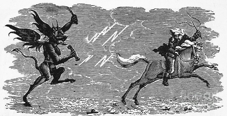 19th Century Photograph - Bewick: Devil by Granger