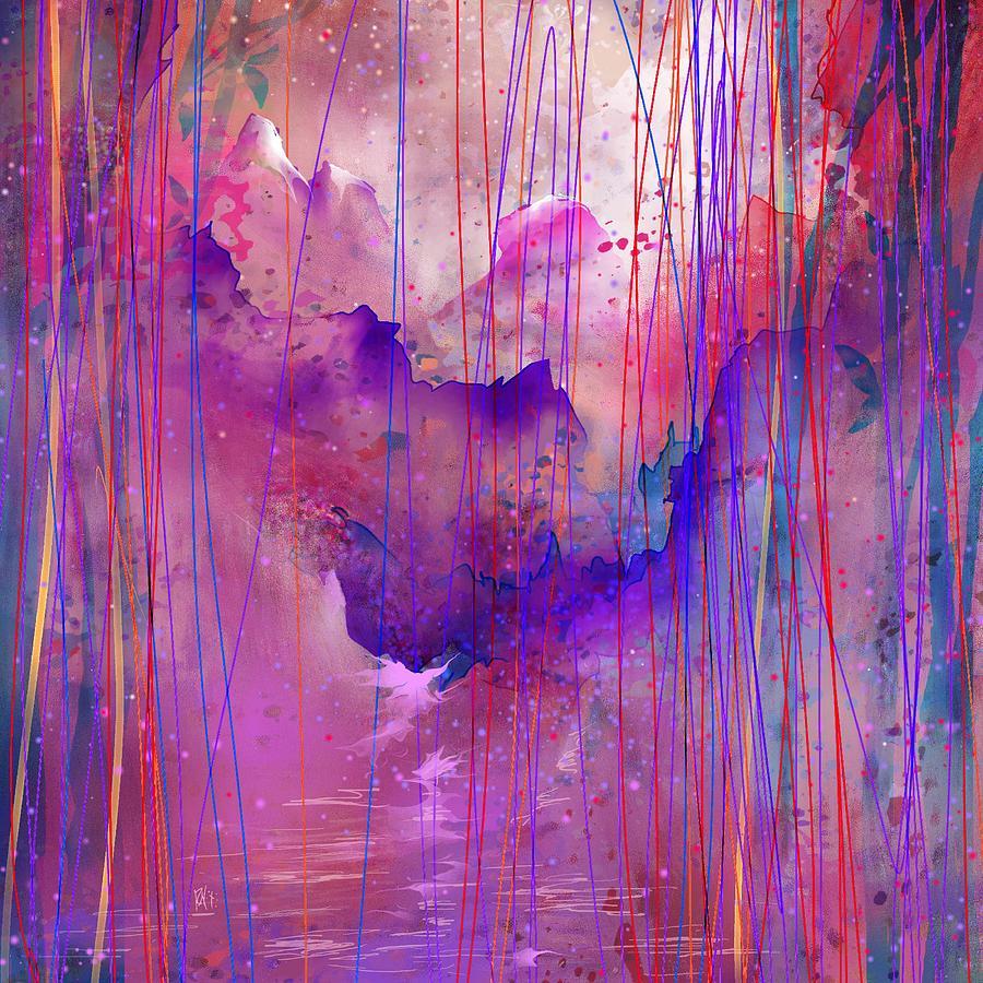 Tears Digital Art - Beyond The Tears by Rachel Christine Nowicki