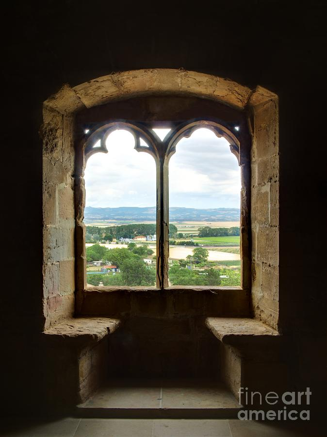 Landscape Photograph - Beyond The Window by Alfredo Rodriguez