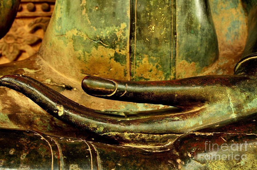 Buddha Photograph - Bhumisparsa Mudra IIi In Colour by Dean Harte