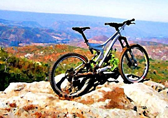 Bicycle Of Decrease In Mountains Photograph by Jenny Senra Pampin