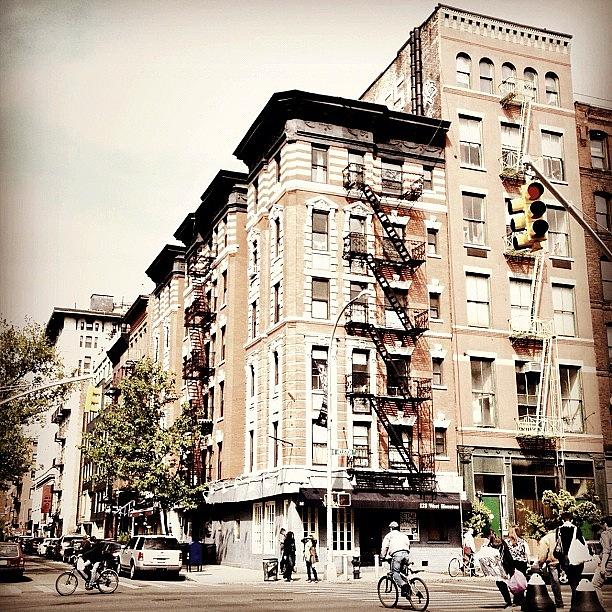 New York City Photograph - Bicycles - Greenwich Village - New York City by Vivienne Gucwa