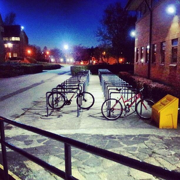 Salford Photograph - #bicycles Infron Of by Abdelrahman Alawwad