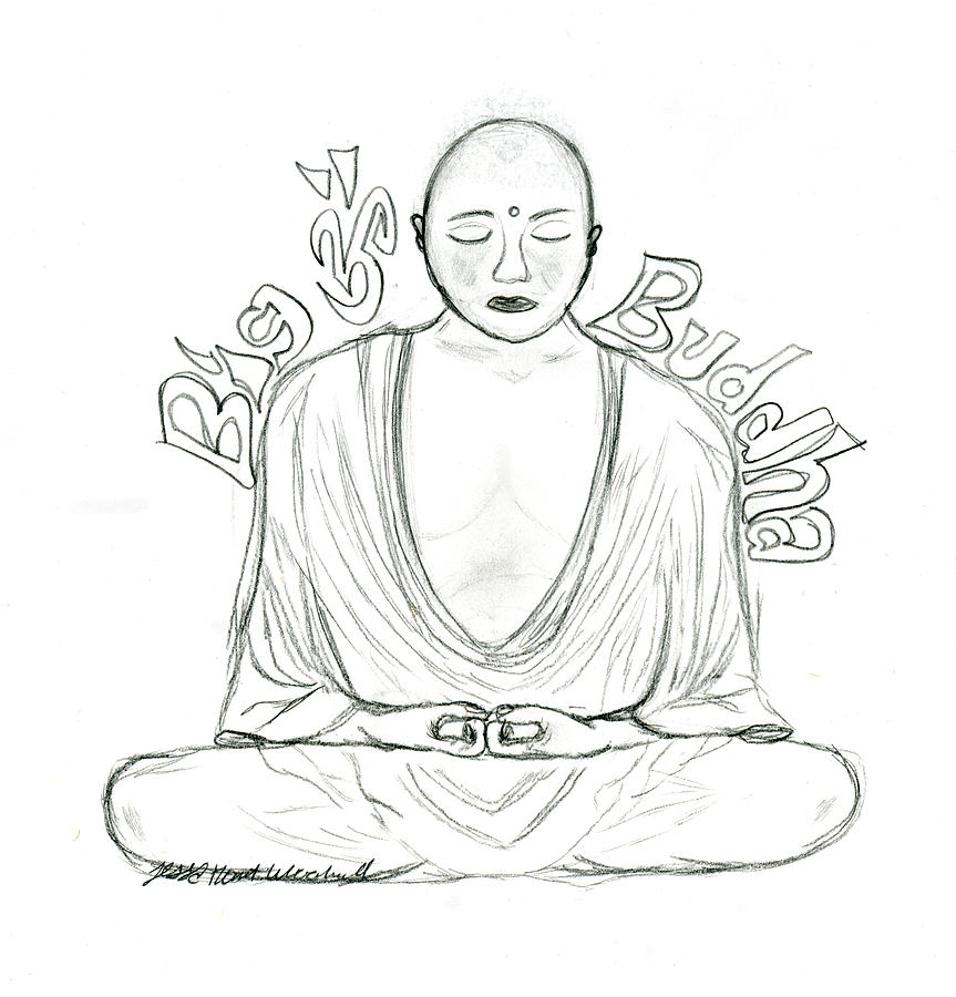 fat buddah coloring pages - photo#50