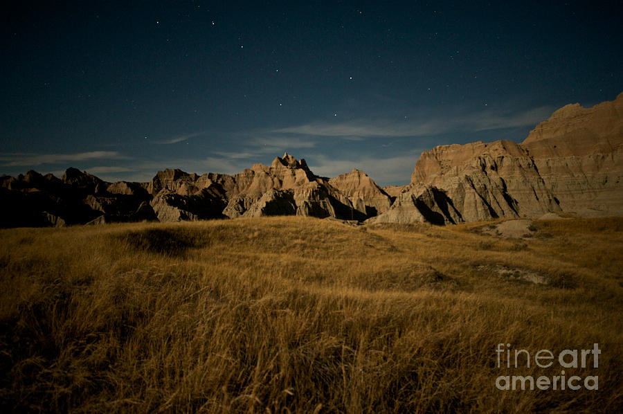 Badlands National Park Photograph - Big Dipper by Chris Brewington Photography LLC