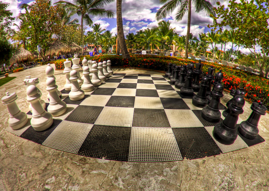 Chess Photograph - Big Game by Dmitriy Mirochnik