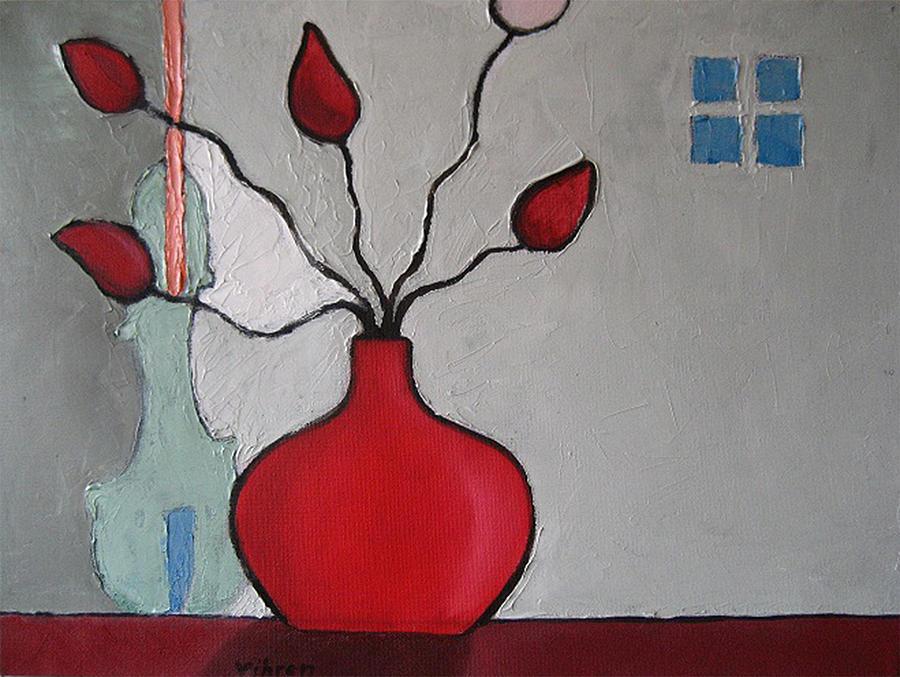 Still Life Painting - Big Hug by Vihren Paounov