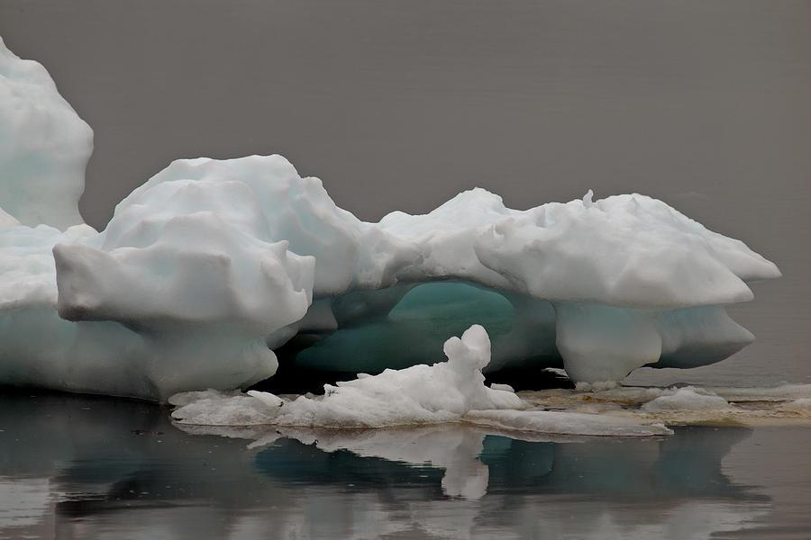 Ice Photograph - Big Ice Little Ice by Stan Wojtaszek