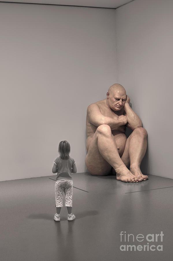 Big Photograph - Big Man by Jane Brack