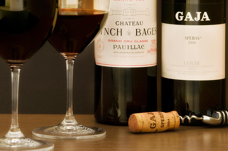Wine Glass Photograph - Big Reds by John Galbo
