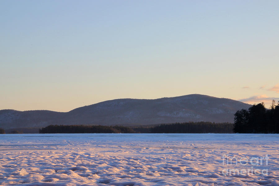 Sunrise Photograph - Big Squam Cold by Michael Mooney