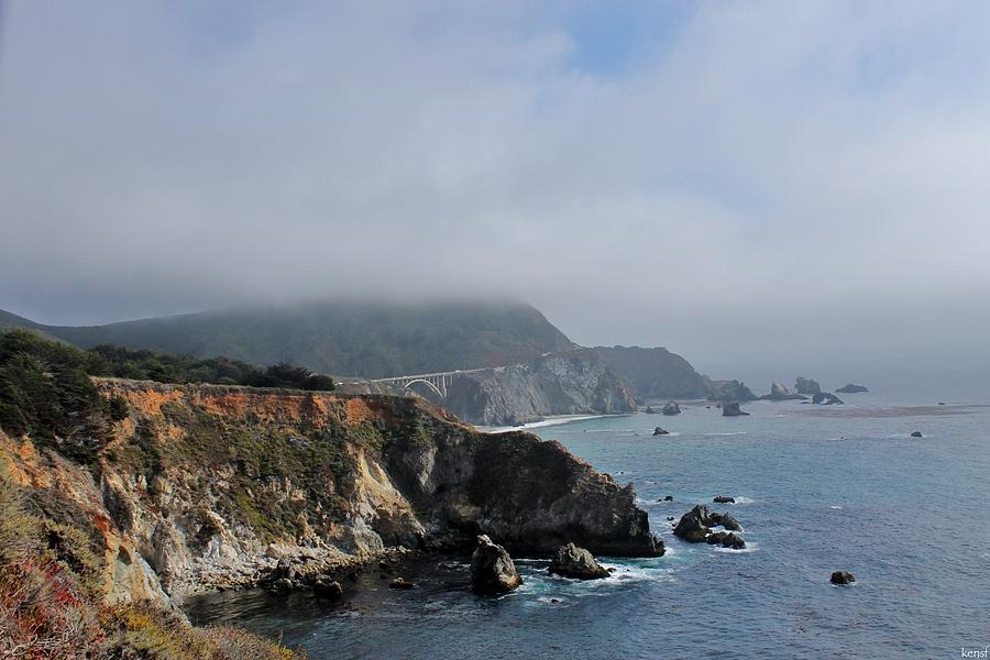 Landscape Photograph - Big Sur by Ken SF