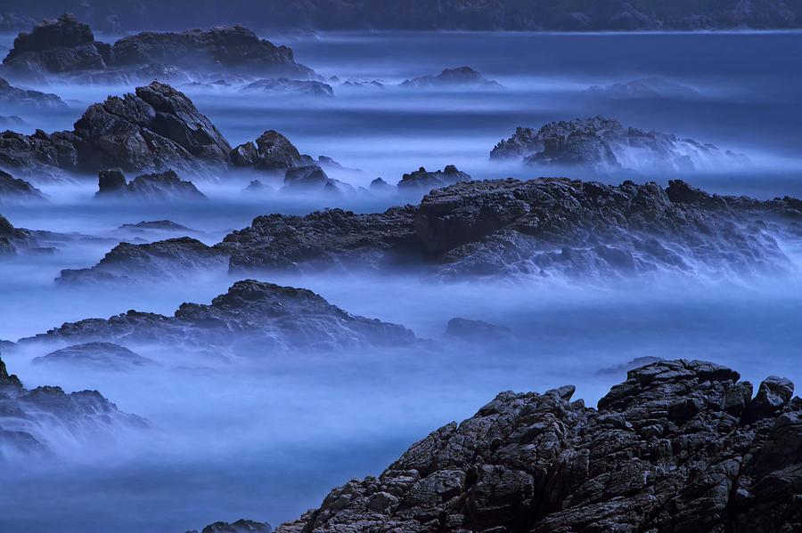 Big Sur Mist Photograph